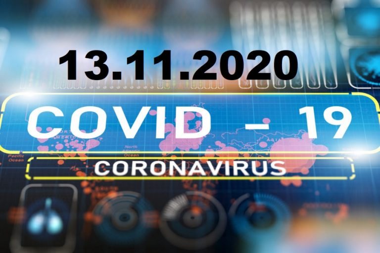 COVID-19 У ЯМНИЦЬКІЙ ОТГ СТАНОМ НА 13.11.2020