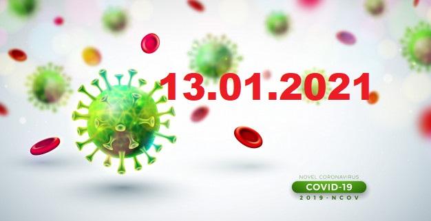 COVID-19 У ЯМНИЦЬКІЙ ГРОМАДІ СТАНОМ НА 13.01.2021