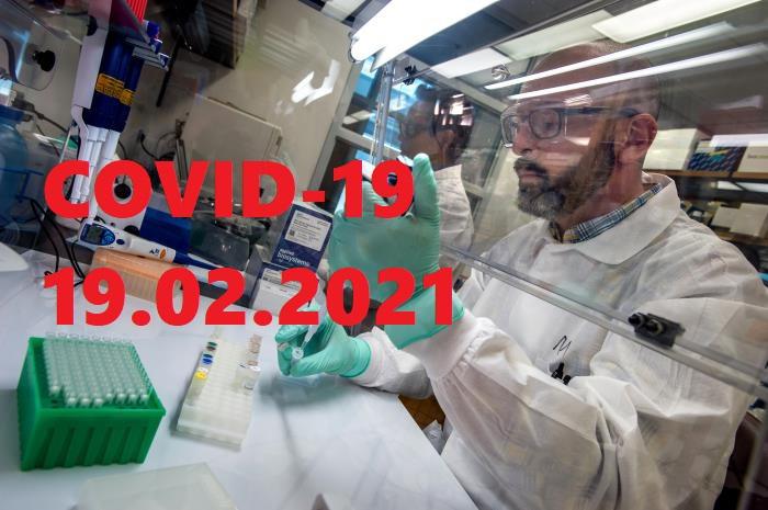 COVID-19 У ЯМНИЦЬКІЙ ГРОМАДІ СТАНОМ НА 19.02.2021