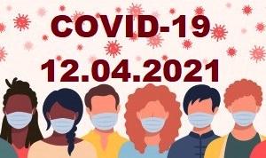 COVID-19 У ЯМНИЦЬКІЙ ГРОМАДІ СТАНОМ НА 12.04.2021