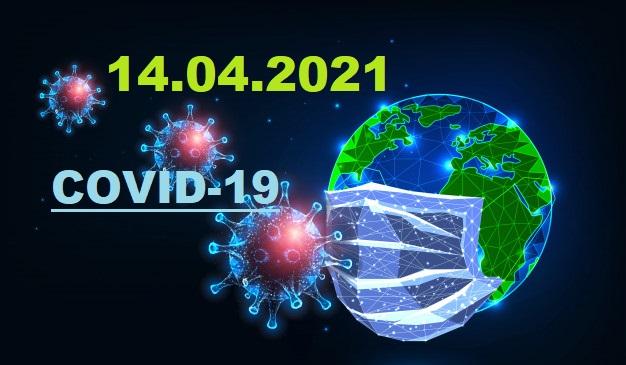 COVID-19 У ЯМНИЦЬКІЙ ГРОМАДІ СТАНОМ НА 14.04.2021