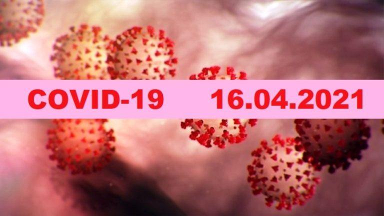 COVID-19 У ЯМНИЦЬКІЙ ГРОМАДІ СТАНОМ НА 16.04.2021