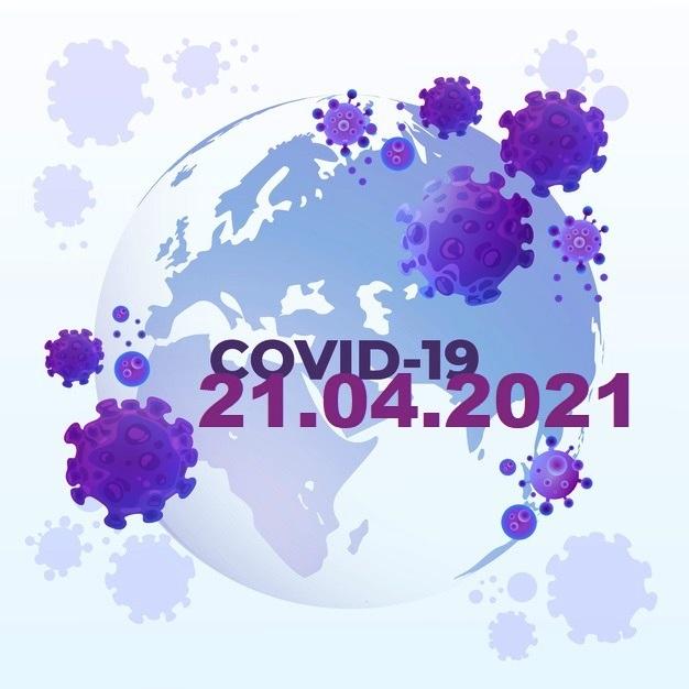 COVID-19 У ЯМНИЦЬКІЙ ГРОМАДІ СТАНОМ НА 21.04.2021