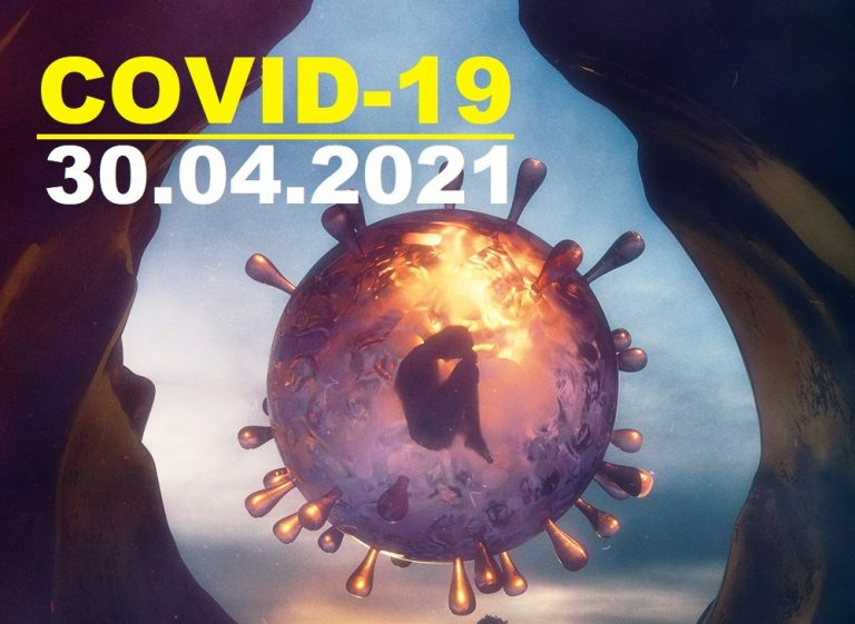 COVID-19 У ЯМНИЦЬКІЙ ГРОМАДІ СТАНОМ НА 30.04.2021