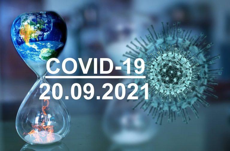 COVID-19 У ЯМНИЦЬКІЙ ГРОМАДІ СТАНОМ НА 20.09.2021